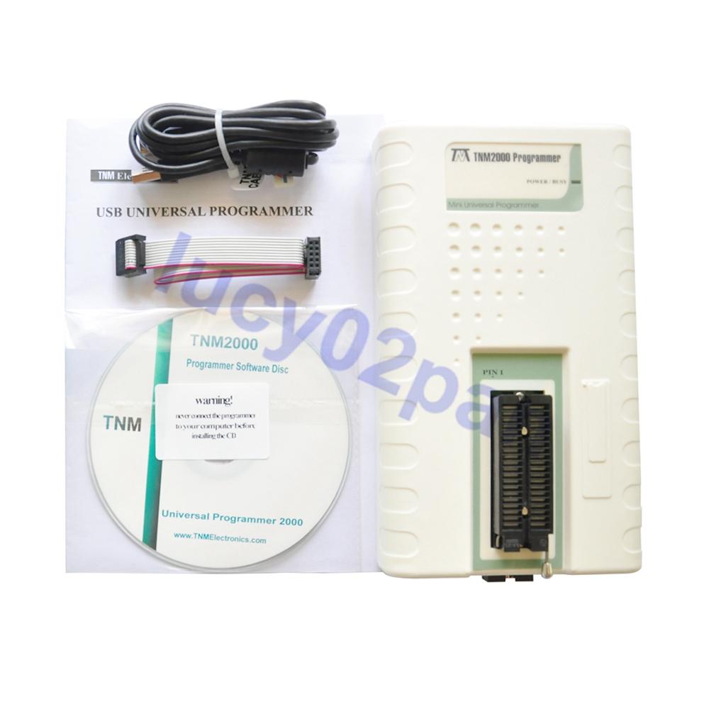 TNM2000+ Nand flash programmer without socket USB Universal IC Programmer nand programmer Fast USB Interface 40 Pin ZIF Socket(China (Mainland))