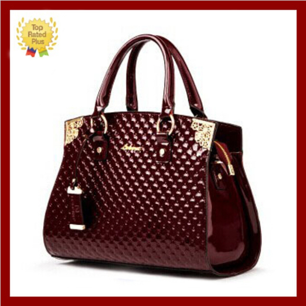 NEW arrived!! 2014 women messenger bag Genuine patent leather handbag Brand crossbody Bag Luxury Tote women travel bags(MSB-056)(China (Mainland))