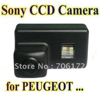 Sony HD CCD Special Car Rear View Reverse backup Camera reversing for Peugeot 206 207 306 307 308 406 407 5008 Partner Tepee
