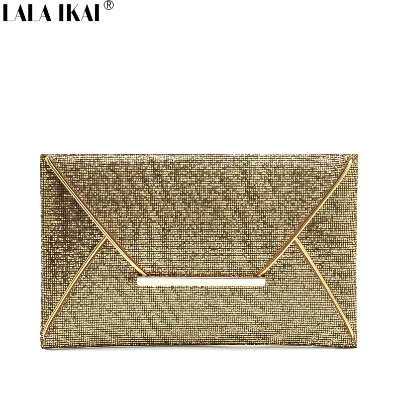 2016 Fashion Envelope Clutch Bags Handbags Women Ladies Party Sequins Bags Cell Phone Purse BWF0184-4.9(China (Mainland))
