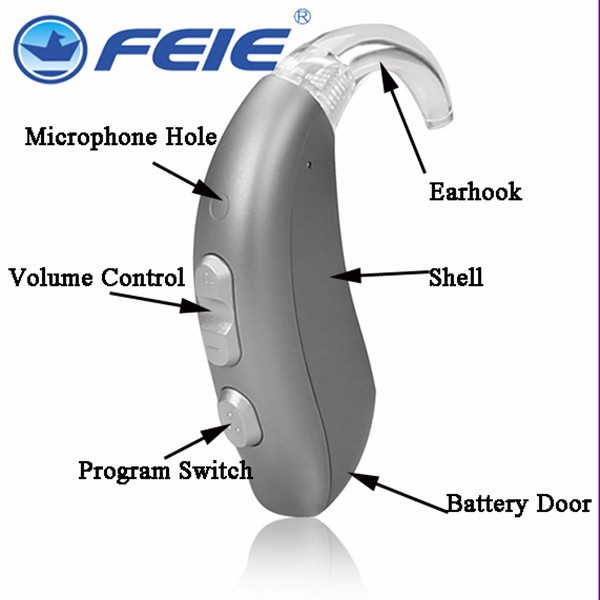 technological inventions 2016 newest BTE digital hearing aid super hearing with Tinnitus Masker MY-26 free shipping