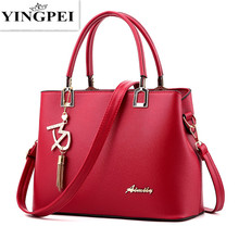 Buy YINGPEI New Designer Women Bags Fashion Vintage PU Leather Handbags High Quatity Casual Shoulder Messenger Crossbody Totes for $16.76 in AliExpress store