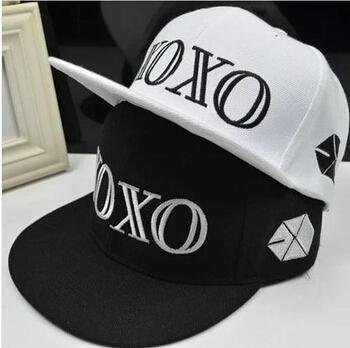 2015 High Quality E X O Hat Snapback For Men And Woman XOXO Cap Outdoor Sport Baseball Caps Fashion Bone Gorros(China (Mainland))