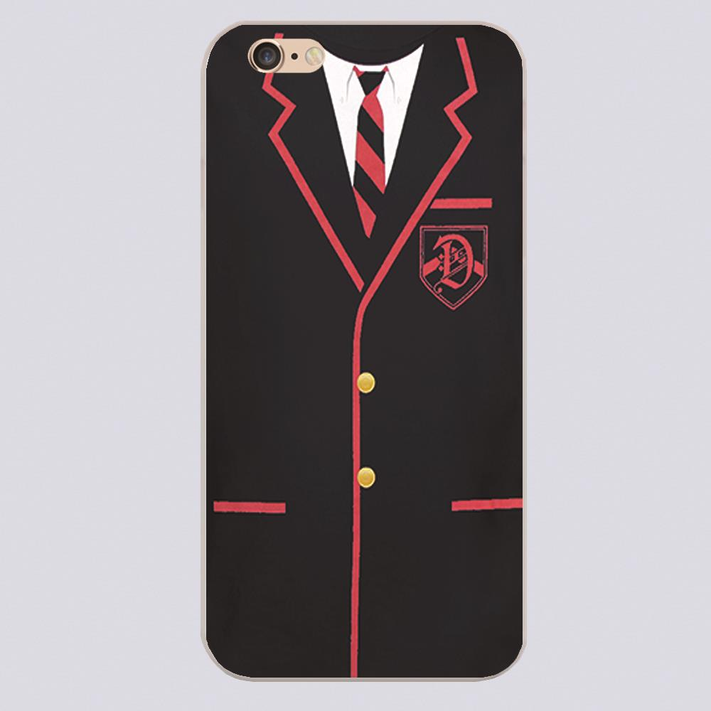GLEE DALTON ACADEMY UNIFORM Design phone cover cases for iphone 4 5 5c 5s 6 6s 6plus Hard Shell(China (Mainland))