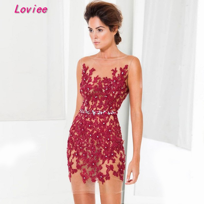 Compare Prices on Lace Cocktail Dresses White- Online Shopping/Buy ...