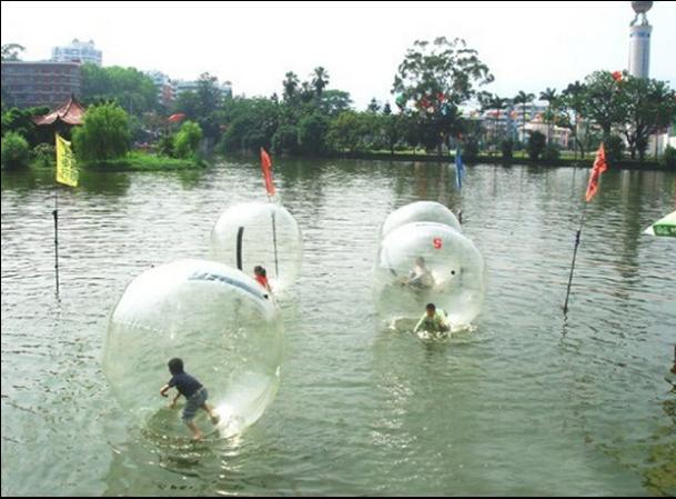 Free shipping by DHL ! 2M fun entertainment water ball, inflatable water walking ball(China (Mainland))