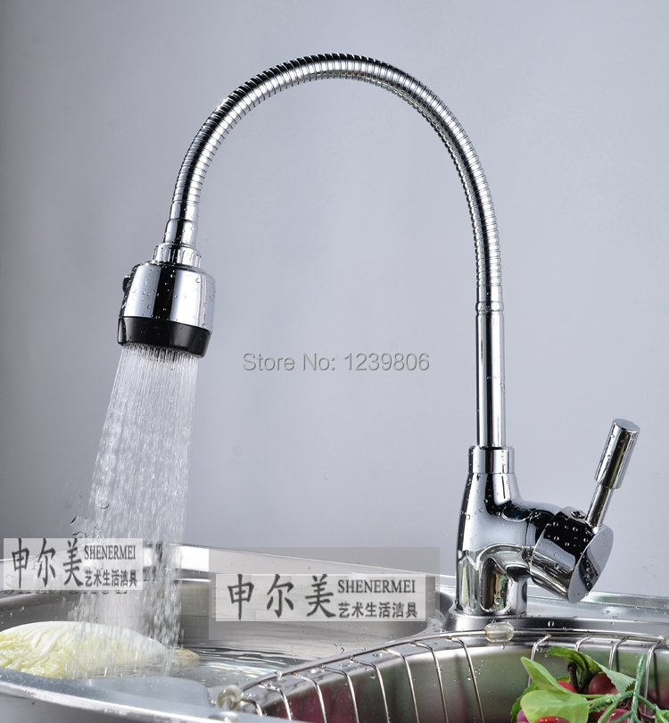 2014 top sell flexible pipe sink tap sprayer water kitchen