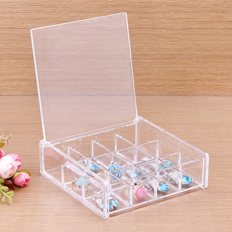 2014 New and Fashion Makeup Organizer Cosmetic Acrylic Clear Case Display Box Jewelry Storage Holder()