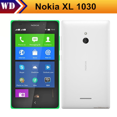 Unlocked Original Nokia XL 1030 Mobile phone Dual sim cards 5.0 inch Touch Screen 5MP Camera Android OS in Stock(China (Mainland))