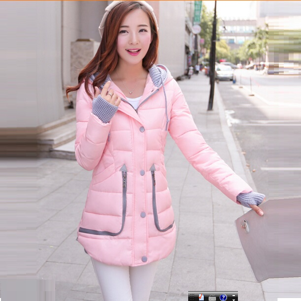 Фотография The New Winter Jacket Women 2015 Han Edition Cultivate One