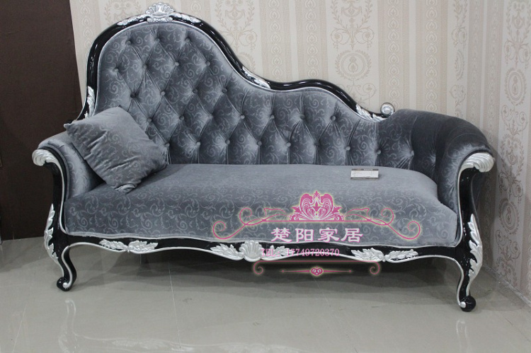 European fabric chaise sofa couch American beauty parlor sofa sofa image can be customized direct marketing(China (Mainland))
