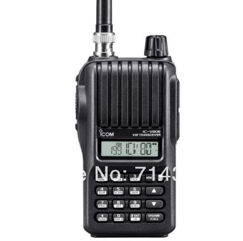 2 pcs/lot NEW two way radio Handheld transceiver IC-V80E VHF 136-174MHz+FREE SHIP(China (Mainland))