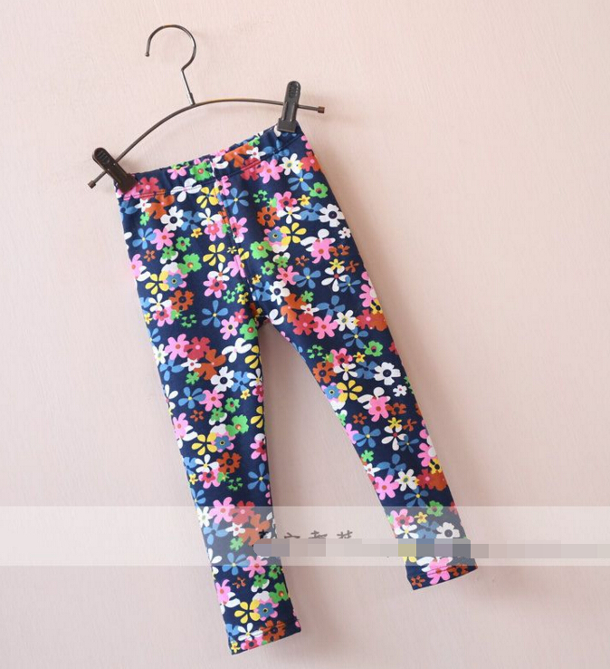 2016 New children baby Colorful petals leggings pants wholesale<br><br>Aliexpress