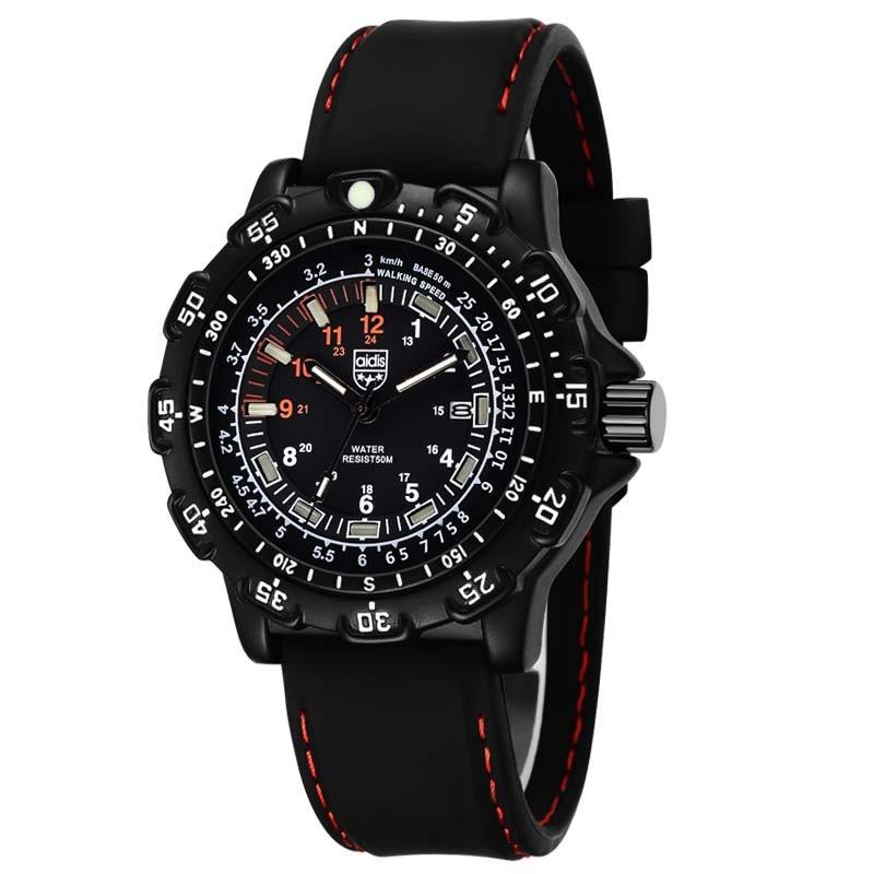 Эксклюзивная Модная Военная Кварц Мужчины Часы Повседневная Серебристые Часы Силиконовые Водонепроницаемые Спорт На Открытом Воздухе Наручные Часы Relojes Hombre