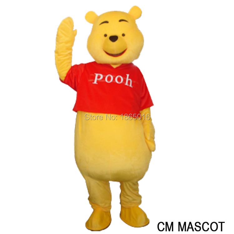 Brand new Adult size Costume party Bear Mascot costume dress Free shipping 1pc(China (Mainland))