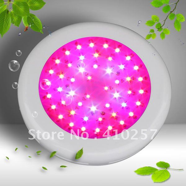 2012 new arrival UFO led grow light 100W(50*3W),3W Epistar chip,actual power:100W ,3years warranty,HIGH-QUALITY,Dropshipping(China (Mainland))