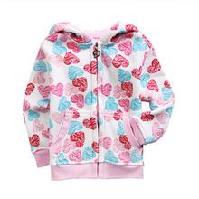 2015 NEW kids deer t shirt cartoon hoodies kids clothing Girl T Shirt Kids Children Long