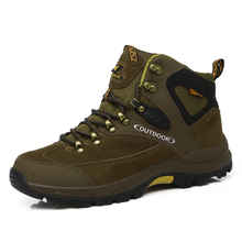Men Climbing Shoes Sport Boots Big Size 11 Mens Hiking Shoes Brand Green/Brown Outdoor Shoes Men Boots Hiking Climbing(China (Mainland))