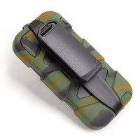 100pcs/lot 3 Layers Shockproof  Waterproof Proctective Defender Case Cover for iphone 5 5S Free Shipping