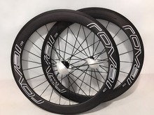 Buy New 700C 50mm 38 60mm clincher rim Road bike aero matt UD full carbon fibre bicycle wheelsets light 23 25mm width Free for $355.00 in AliExpress store
