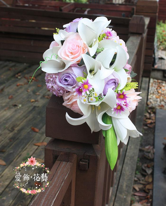 Violet bouquet de mariage achetez des lots petit prix violet bouquet de mar - Bouquet de rose artificielle ...