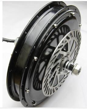 48V 500W brushless gearless hub motor/Electric bicycle rear wheel motor