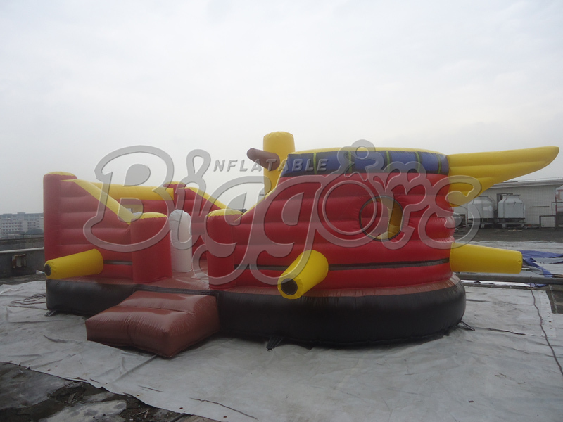 Free Shipping Inflatable Pirate Ship Bouncer Free Air Blower<br><br>Aliexpress