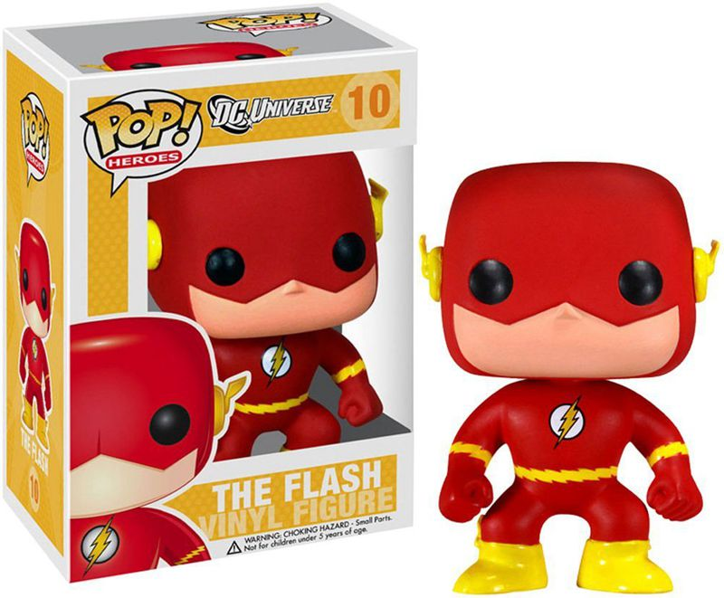 New Funko pop Official DC Universe TV The Flash Super Hero Action Figure Doll Collectible Kids Model Toy with Original box(China (Mainland))