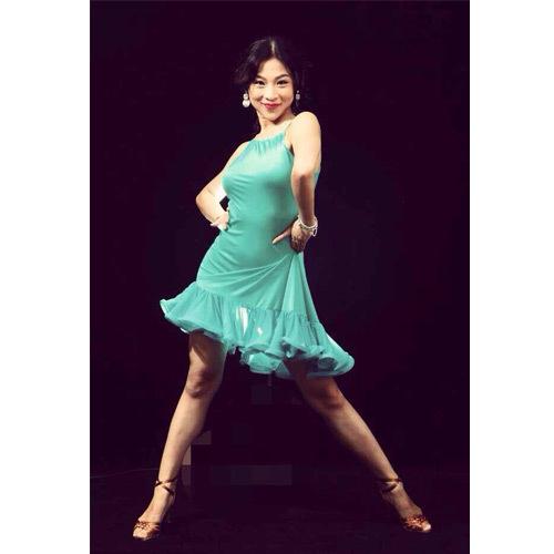 Costumized latine de danse robe pas cher dans latine de nouveaut et une utilisation - Robe de danse de salon pas cher ...