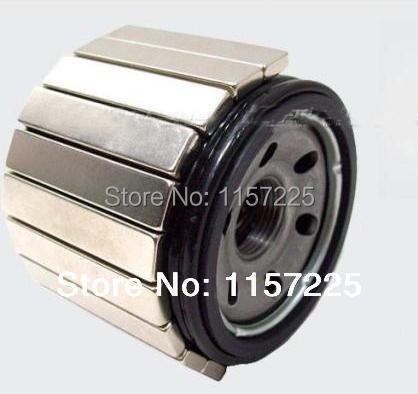 Гаджет  NdFeB rare earth permanent magnet 50 * 10 * 5N52 high temperature of 200 degrees None Строительство и Недвижимость