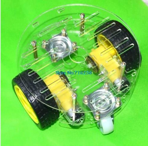 Smart Car Chassis 2wd Robot Tracing Strong Magnetic Motor Car Rt 4 Avoidance Car With Code