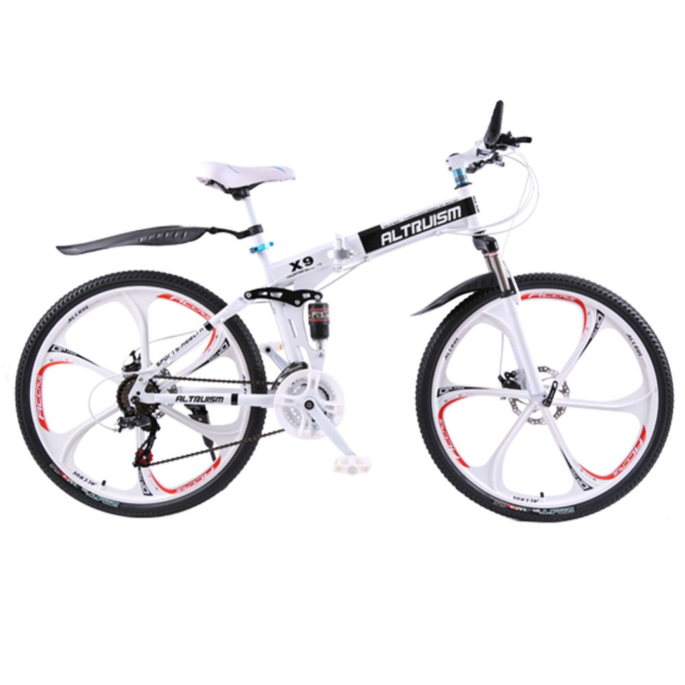 Altruism X9 mountain bike 26-inch steel 21-speed bicycles dual disc brakes variable speed road bikes racing bicycle(China (Mainland))