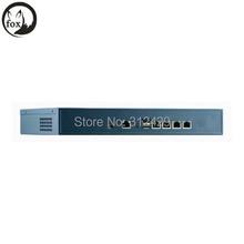 1U Rackmount router Server Firewall Appliance,1U Atom D525 4*Lan network server