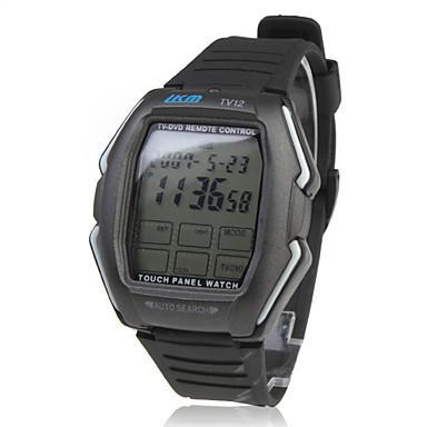 Мужская мужские часы унисекс женщины сенсорная панель TV / DVD / VCR с дистанционным управлением наручные часы наручные спортивные резина новый