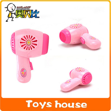 Mini Hair Dryer Mini Toys  Pretend Toys classic products kids toys for girls pink toy hair dryer(China (Mainland))