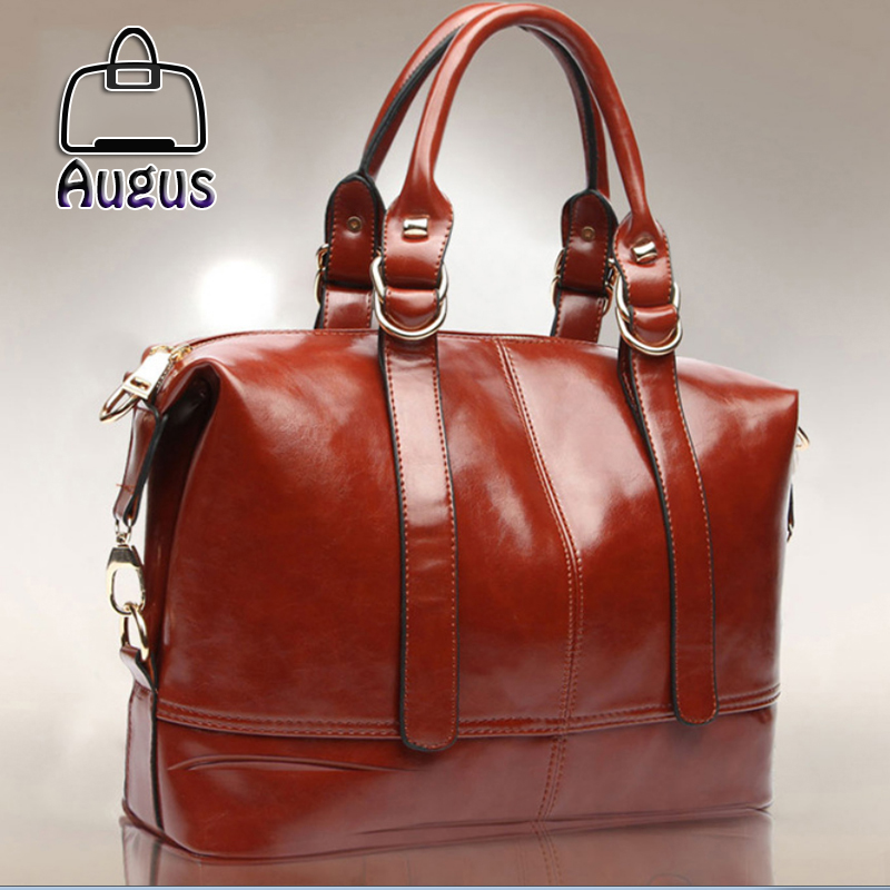 New Fashion Leather bags Women Leather Handbags famous brand Women Messemger Bags Shoulder Bags Hot Vintage bags high quality(China (Mainland))