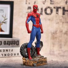 30 centímetros Super Hero Spiderman Toy Figuras de Ação Brinquedos Anime Spider Man Collectible Modelo Brinquedos Como Presente de Natal N023(China)