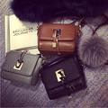fashion pu leather structure shoulder bag vintage high quality hard crossbody bag sling bag with flap