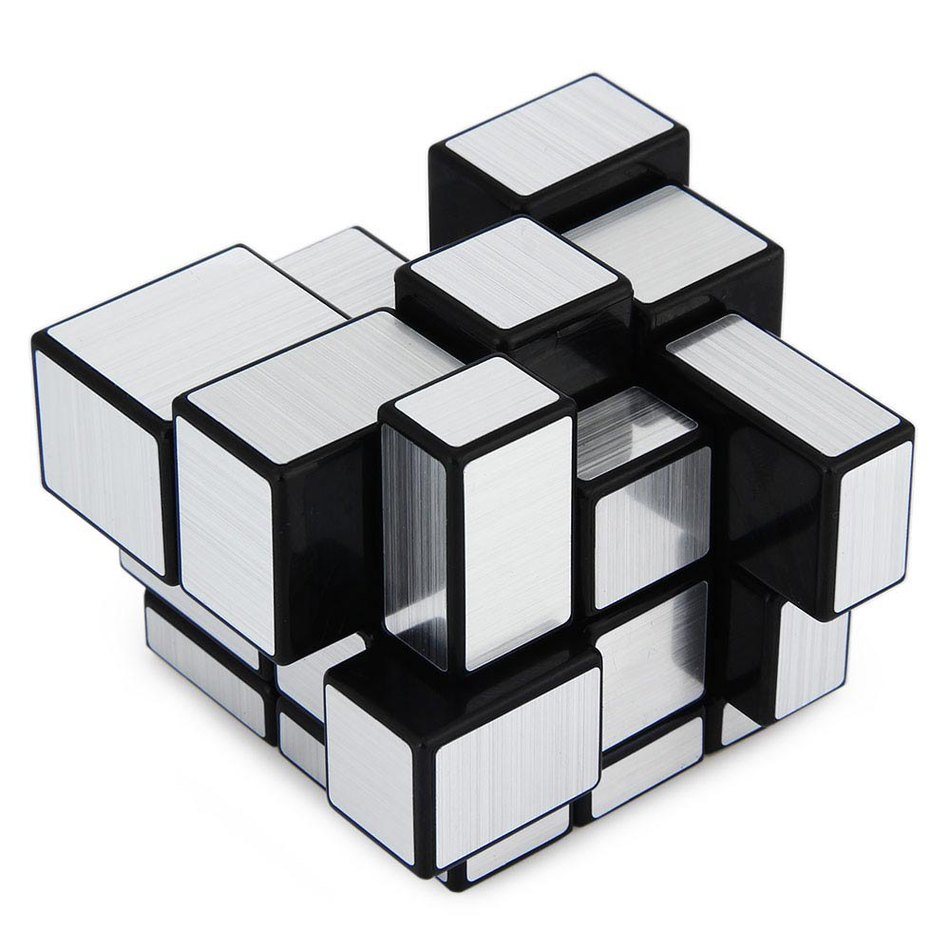Shengshou3x3x3 Mini Magic cube Golden Mirror Blocks Silver Shiny toy Speed Brain Teaser Gift For Child brinquedos cubo magico(China (Mainland))