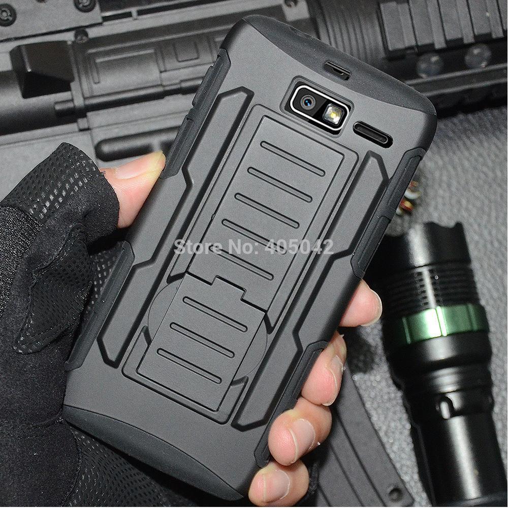 Hybrid Protective Armor Case Cover Holster Belt Clip For Motorola Droid Razr M/I XT907 XT890(China (Mainland))