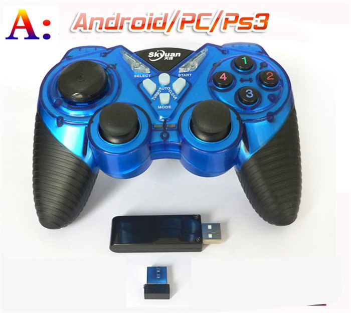 New controller gamepad joystick for PS2 PS3 /PC/android with 2.4Ghz wireless received and multifunction button(China (Mainland))
