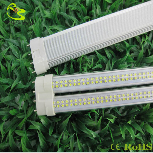 Фотография 12w led tube 2g11 85-265v 2835 smd LED Horizontal Insert 4-pin PL lamp  2g11 double-barreled tube 2g11 led lamp 12w