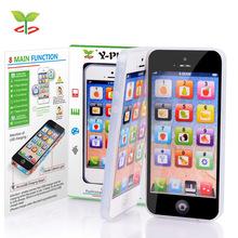 Kid игрушка с из светодиодов Y — телефон английского языка мобильный телефон ребенка мобильный раннего образования обучения игрушек электронный телефон
