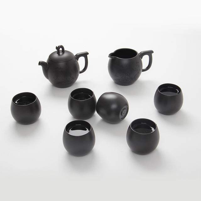 Drip set yixing tea pot cup set kung fu tea