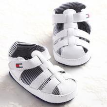 S1171 Neue Ankunft Baby jungen Mädchen Kleinkind Sandalen Neugeborenen bis 18 Monate Weiß Weiche Alleinige Babyschuhe Großhandel(China (Mainland))