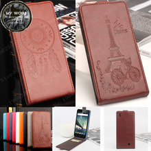 Buy Homtom HT16 Case 5.0 inch Luxury Elegant Windbell Tower Embossing Leather vertical flip protective cover case Homtom HT16 ) for $5.84 in AliExpress store