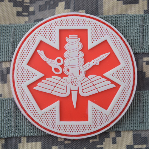 Tmall supply PVC armbands U.S. military tactics medical armbands patch Field medical luminous military patches badges(China (Mainland))