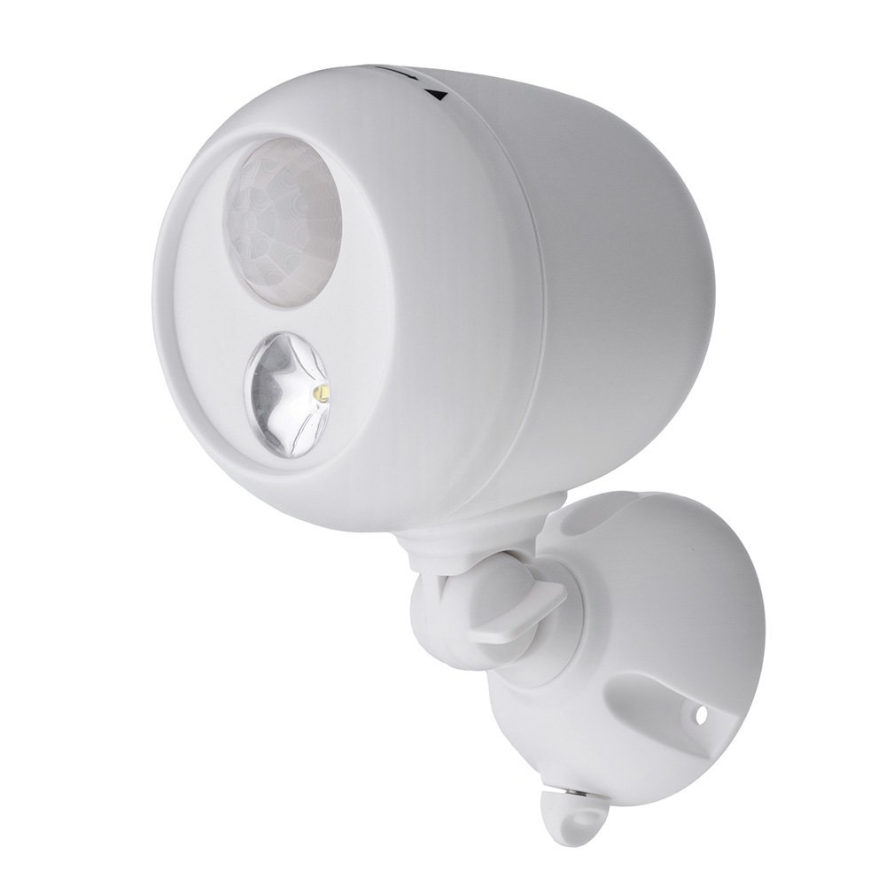 Battery Powered Motion Sensor Detector Outdoor Security Light Waterproof Home