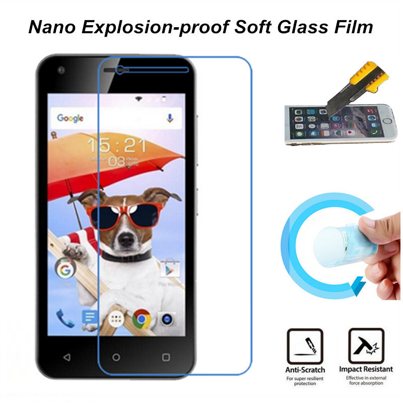 Ultra Clear Nano Explosion-proof Soft Glass Screen Protector Film for Fly Nimbus 8 FS454 Film(China (Mainland))
