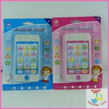 Children's toys educational simulationp music mobile phone 4G the latest version of Russian language Baby phone(China (Mainland))